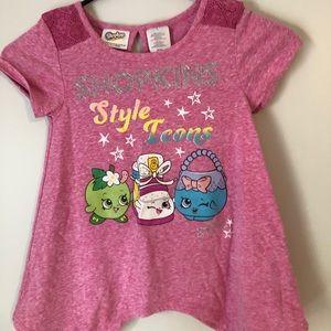 girls Shopkin Tshirt